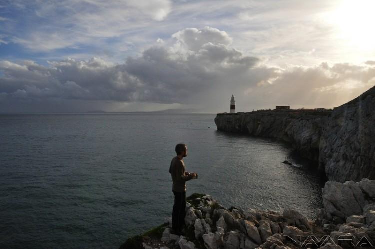 Noc před zatčením, Gibraltar